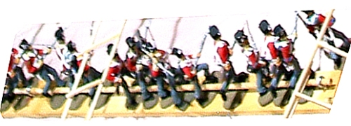 British Plastic toy soldiers