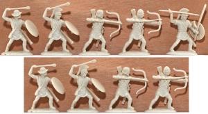 EXP107 Ancient Greek Psiloi Archers and Slingers