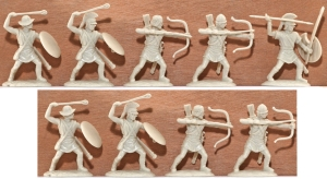 EXP107 Ancient Greek Psiloi Archers and Slingers
