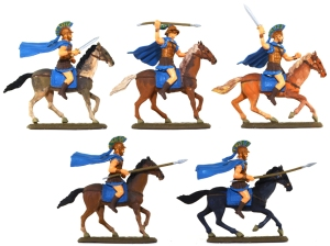EXP112p Athenian Cavalry - fully painted