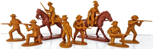 expzbr05 Natal-Boer Voluneers Zulu War British Auxilliaries