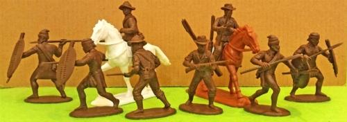 expzul03 Natal Native Contingent Zulu War British Auxilliaries