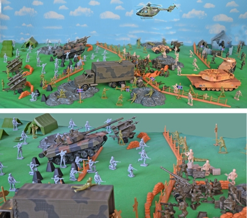 playset-130f Super Deluxe Red Storm Rising - NATO vs Soviets Super Deluxe Red Storm Rising - NATO vs Soviets