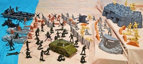 Battle Ready WW II D-Day Playset (109 pieces)...$119
