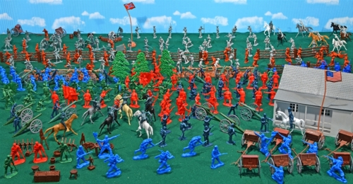 Deluxe Pickett's Charge Playset (392 pieces)...$299