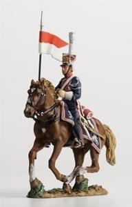 Napoleonic Polish Lancer, 1813...$20.00