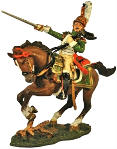Napoleonic Officer, The Empress Dragoons, 1812...$20.00