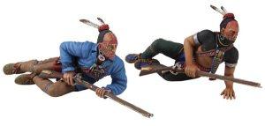 16042 Prone Native Warriors