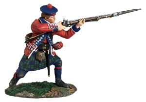 BRC16047 British 42nd Highlander Standing Firing #1