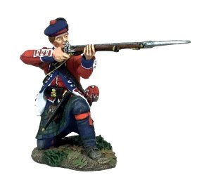 BRC16049 British 42nd Highlander Kneeling Firing #1