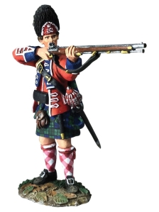 BRC16050 British 42nd Highlander Grenadier Stand/Firing #1