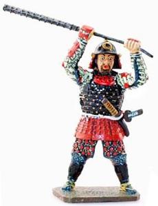HWISAM031 Japanese Samurai Kanabou Musya
