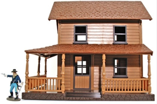 NR130a Two-Story Wood Frame House
