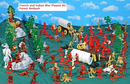 New Playset for 2017: French and Indian War Tri-Series Playsets
