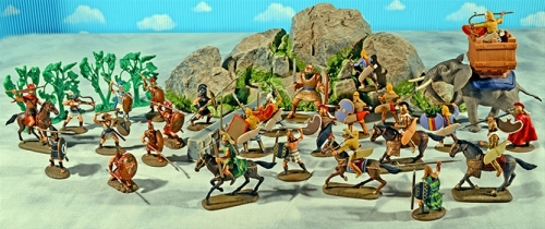 Super-Deluxe Painted Thermopylae Playset